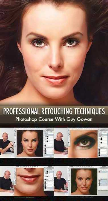 Professional retouching & cosmetic techniques with Guy Gowan