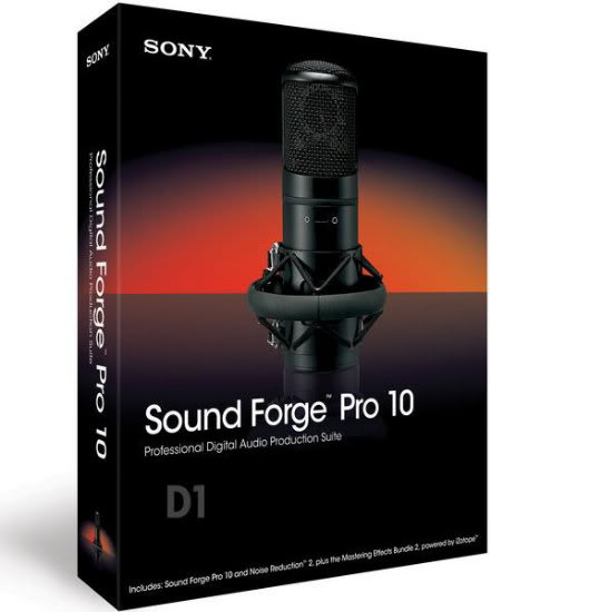 SONY  Sound  Forge  10.0 Build 474 - Silent Installation