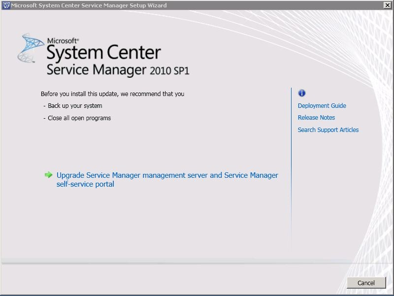 Microsoft System Center Service Manager