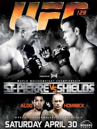 UFC 129 St-Pierre vs Shields (2011) HDTV